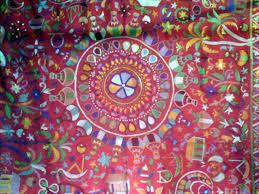 nakshi kantha nakshi kantha decorative stitched quilt quilts blankets