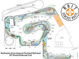 Rit Campus Map Layout Rit Model Railroad Club