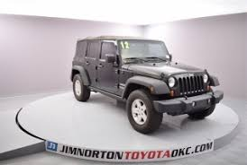 jeep wrangler oklahoma city used jeep wrangler unlimited for sale in oklahoma city ok 130