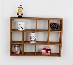 wooden wall hanging hollow wooden wall shelf storage holders and racks desktop shelves