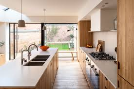 light oak shaker kitchen cabinets oak kitchen cabinets and a skylight are the of