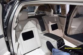 maybach mercedes 2015 2015 mercedes maybach s600 pullman interior 04 2015 geneva motor