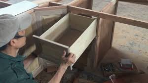 Building Kitchen Cabinet Drawers How To Build Kitchen Cabinet Drawer Fast And Easy Woodworking
