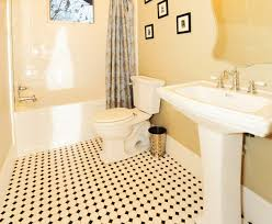 exquisite ideas black and white bathroom floor tile absolutely