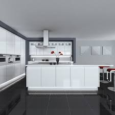 Grey Kitchen Cabinets by Kitchen White Contemporary Kitchen High Gloss Kitchen Cabinets