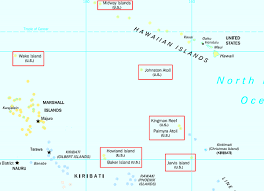 us minor outlying islands map u2022 mappery