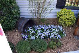 garden design garden design with whiskey barrel planter on its