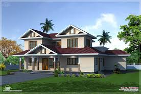 2400 sq feet villa exterior and floor plan kerala home design