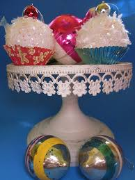 cupcake ornaments featuring kristin from homespun with
