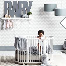 Oval Crib Bedding Oilo Crib Bedding For Oval Stokke Crib At Nordstrom Baby