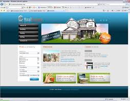 real estate html website template best website templates