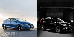 honda civic 2016 black honda civic limited edition and cr v black edition launch in the