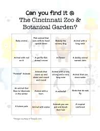 find it at the cincinnati zoo with printable
