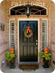 Fall Decorating Ideas For Front Porch - crafty texas girls fall door