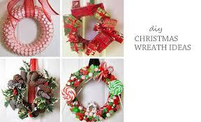 Decorated Christmas Wreaths Ideas by Diy Christmas Wreath Ideas Improvements Blog