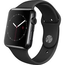 iwatch black friday amazon com apple watch 42mm stainless steel case with black sport
