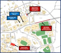 Unc Map Reserved Parking For Vigil Services Transportation U0026 Parking