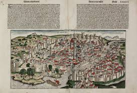 Map Of Florence Italy Florencia Schedel Italy Florence Firenze 1493