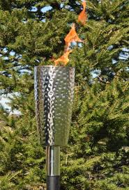 Patio Torch Lights by Tiki Torches Citronella Oil Torch Poles Outdoor Patio Garden