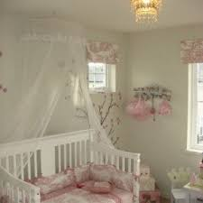 orange county iron canopy crib bedroom shabby chic style with