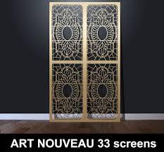 Decorative Screens Art Nouveau 33 Laser Cut Decorative Screens U2013 Laser Cut Screens