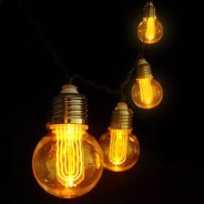 Edison Lights String by Retro Edison Bulb String Lights