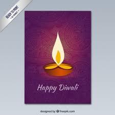 happy diwali greeting with ornaments vector premium