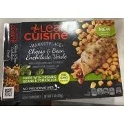 liant cuisine lean cuisine marketplace cheese bean enchilada verde calories