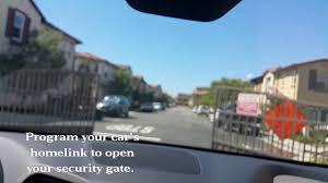 alderson lexus pre owned open your gate with your car u0027s homelink youtube