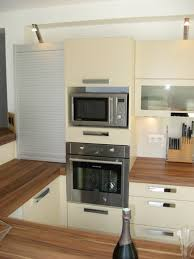 meuble rideau cuisine volet roulant de meuble de cuisine outil intéressant votre maison