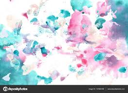 cyan magenta color watercolor background u2014 stock photo soolima