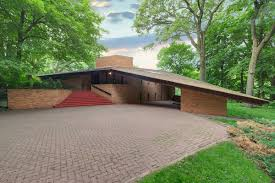 frank lloyd wright u2013designed house listed in st louis park minn