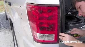 2001 jeep grand cherokee brake light how to install of rear taillight in a 2005 2010 jeep grand