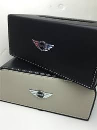 mini cooper logo mini cooper logo leather tissue box end 6 16 2017 5 15 pm