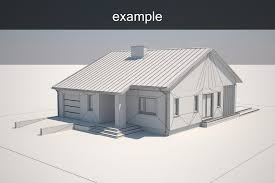 Exle House Model Cgtrader 3d House Building Free
