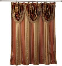 coffee tables elegant double swag shower curtains fancy shower