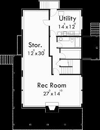 A Frame House Plans With Basement Basement Floor Plan For 3683 A Frame House Plans Vacation House