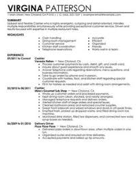 Fast Food Resume Sample comprehensive resume sample http jobresumesample com 932