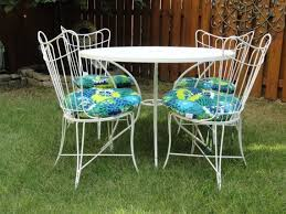 Wire Patio Chairs 59 Best Homecrest Vintage Wire Images On Pinterest Garden