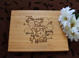 Gifts For Mothers At Christmas - mother u0027s day cutting board lasered engraved mom birthday gift mom