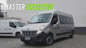 renault master bus avaliação nova renault master minibus executive 2 3 dci 2017