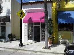 Awning Problems Palm Beach Cites Le Macaron Shop For Awning Color Switch