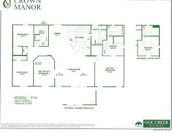 mobile homes floor plans oak creek homes double wide floor plans