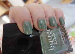 butter london two fingered salute nail polish review through the