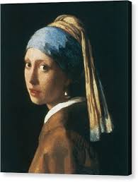 girl pearl earing girl with a pearl earring canvas prints america
