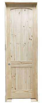 how to stain unfinished pine 18 in x 96 in knotty pine prehung interior door