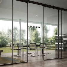 cloison verre bureau cloison coulissante vitrée de bureau à usage professionnel