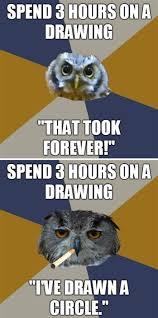 Art Student Owl Meme - image 144491 art student owl know your meme