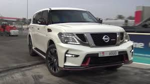 nissan armada quarter mile 2017 nissan patrol nismo drag racing will leave you confused