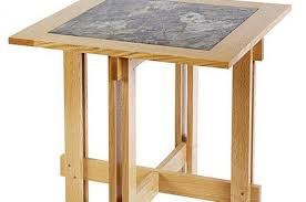 Wood Accent Table Tables Wood Magazine